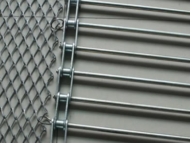 Chain Link Conveyor Belt - Common and Reinforced Type