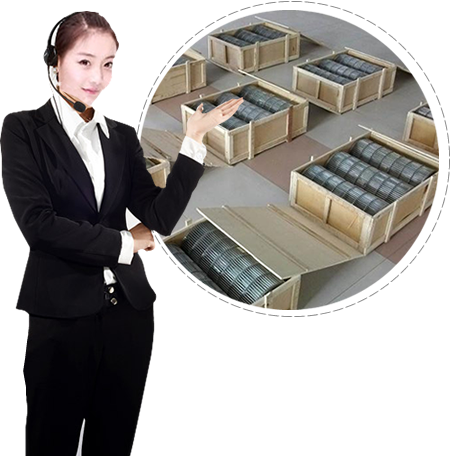 Several wooden cases of flat flex conveyor belt and a professional server.